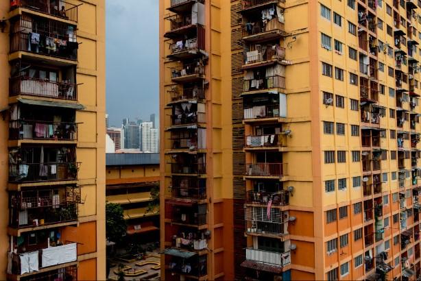 Low cost flats, KL