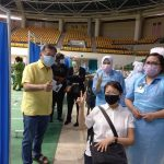 Kuching vaccination site